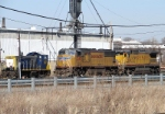 UP 4380, 9132; CSX 1127